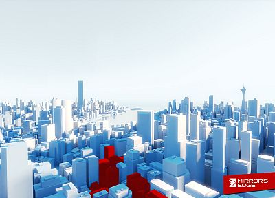 cityscapes, Mirrors Edge, architecture - random desktop wallpaper