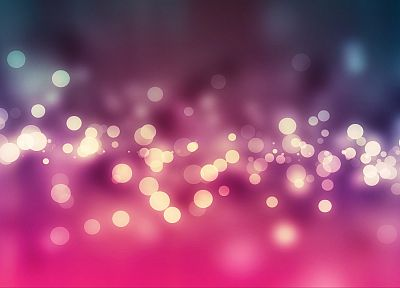 lights, bokeh - random desktop wallpaper