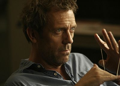TV, Hugh Laurie, Gregory House, rubber bands, House M.D. - related desktop wallpaper