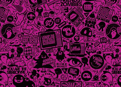 pink, JThree Concepts, Jared Nickerson - random desktop wallpaper