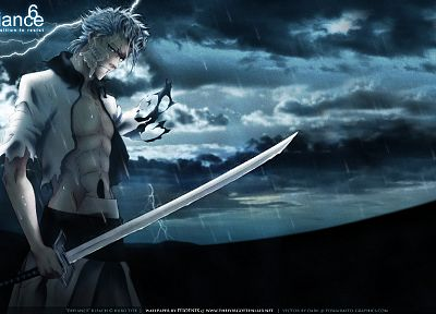 Bleach, Espada, Grimmjow Jaegerjaquez, swords - related desktop wallpaper