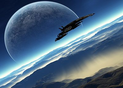 Normandy, Mass Effect, Mass Effect 2 - random desktop wallpaper