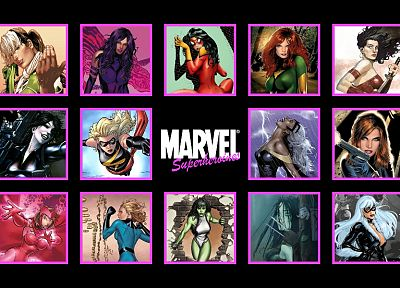 women, comics, Marvel Comics, comics girls - random desktop wallpaper