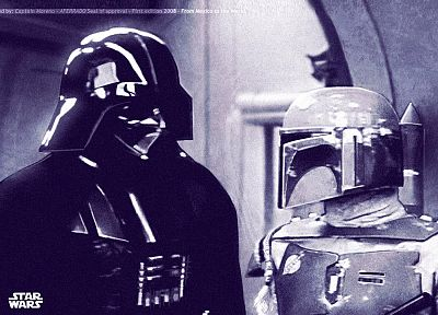Star Wars, Darth Vader, Boba Fett - random desktop wallpaper