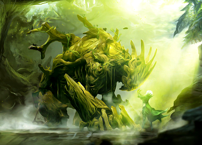 Guild Wars, fantasy art, artwork, Guild Wars 2 - random desktop wallpaper