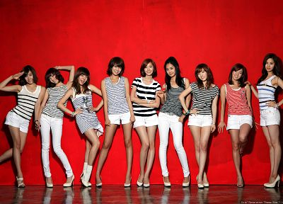 women, Girls Generation SNSD, celebrity, high heels, Korean - random desktop wallpaper