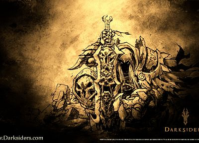 video games, Darksiders - related desktop wallpaper