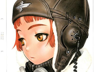 Last Exile, simple background - desktop wallpaper