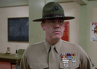 movies, Full Metal Jacket, R. Lee Ermey - random desktop wallpaper