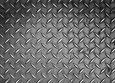 metal, patterns, steel, L., plates, Aluminum, material - random desktop wallpaper