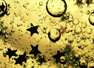 water, oil, stars - random desktop wallpaper