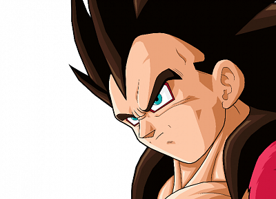 Vegeta, Dragon Ball Z, simple background - random desktop wallpaper