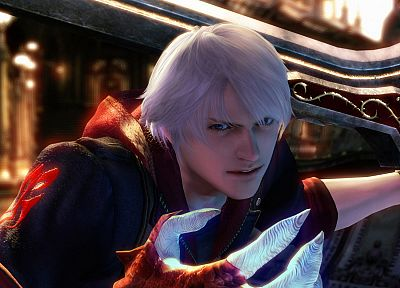video games, Devil May Cry, Nero - random desktop wallpaper
