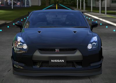 cars, Nissan, Nissan GT-R R35 - related desktop wallpaper