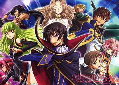 brunettes, Code Geass, Kururugi Suzaku, Alstreim Anya, Lamperouge Nunnally, Lamperouge Lelouch, Lamperouge Rolo, Gino Weinberg, Li Xingke - random desktop wallpaper