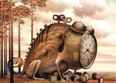 monsters, surreal, Jasek Yerka - random desktop wallpaper
