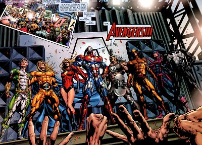 Marvel Comics, Dark Avengers - random desktop wallpaper