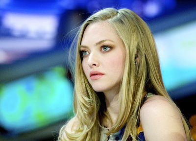 blondes, women, actress, Amanda Seyfried - random desktop wallpaper