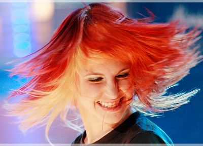 Hayley Williams, Paramore, women, redheads, celebrity, singers - desktop wallpaper