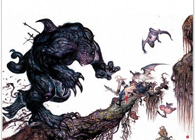 Yoshitaka Amano, Final Fantasy VI - related desktop wallpaper