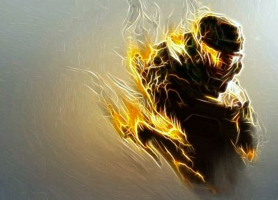 Halo, Master Chief - random desktop wallpaper