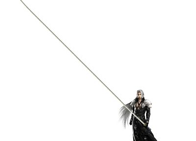 katana, Sephiroth - popular desktop wallpaper
