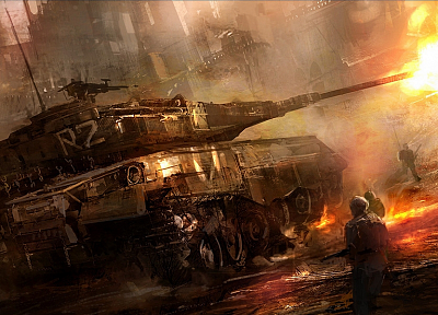 soldiers, war, military, men, tanks - related desktop wallpaper