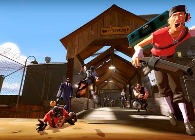 Team Fortress 2 - random desktop wallpaper