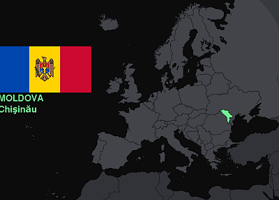 flags, Europe, maps, knowledge, countries, useful, Moldova - desktop wallpaper
