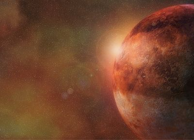 outer space, planets, Mars - related desktop wallpaper