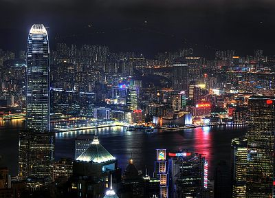 cityscapes, Hong Kong - random desktop wallpaper