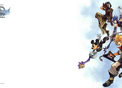 video games, Kingdom Hearts - desktop wallpaper