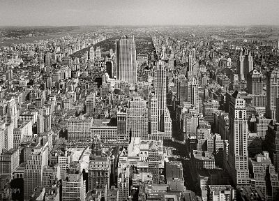 cityscapes, buildings, grayscale, skyscrapers, monochrome - related desktop wallpaper