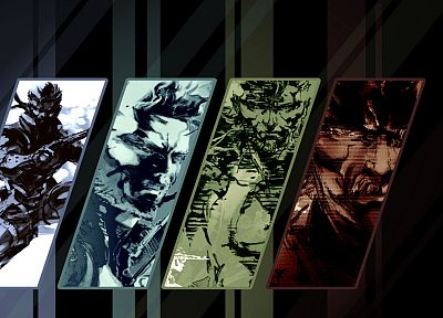 Metal Gear Solid, Solid Snake - random desktop wallpaper