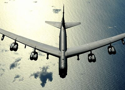 aircraft, bomber, Boeing, B-52 Stratofortress, United States Air Force - random desktop wallpaper