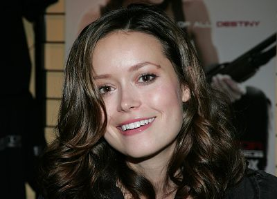 women, actress, Summer Glau, faces - related desktop wallpaper