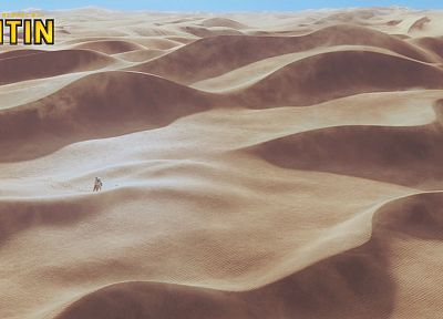 sand, movies, deserts, Tintin, The Adventures Of Tintin - random desktop wallpaper