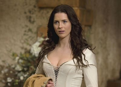 brunettes, women, American, Bridget Regan, Legend Of The Seeker, The Seeker, actress, cleavage, series, Kahlan Amnell - random desktop wallpaper
