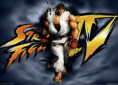 video games, Ryu, Street Fighter IV, 3D - random desktop wallpaper