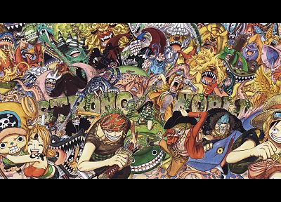 One Piece (anime), Roronoa Zoro, chopper, Monkey D Luffy, Nami (One Piece) - random desktop wallpaper