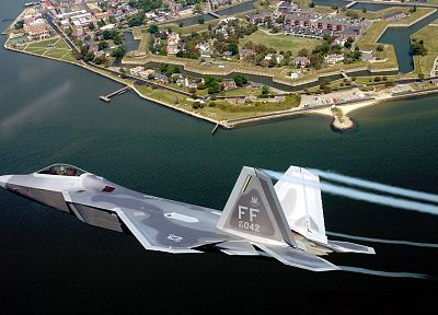 aircraft, military, F-22 Raptor, planes - random desktop wallpaper