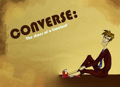 Converse, sneakers, Doctor Who, Tenth Doctor - desktop wallpaper