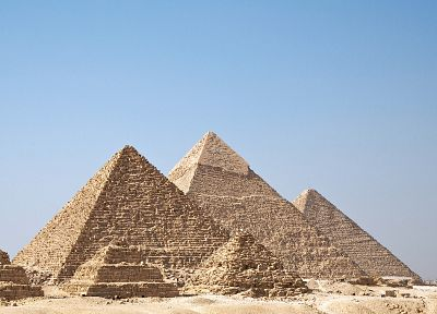 Egypt, pyramids, Great Pyramid of Giza - related desktop wallpaper