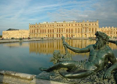 castles, France, Versailles - random desktop wallpaper