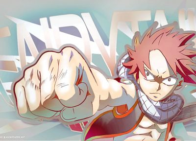 Fairy Tail, Dragneel Natsu, anime - related desktop wallpaper