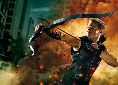 artwork, Hawkeye, Jeremy Renner, The Avengers (movie) - random desktop wallpaper