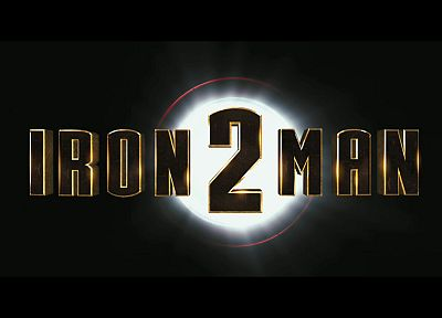 Iron Man, movies, logos, Iron Man 2 - random desktop wallpaper