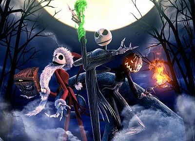 Nightmare Before Christmas, Jack Skellington - random desktop wallpaper