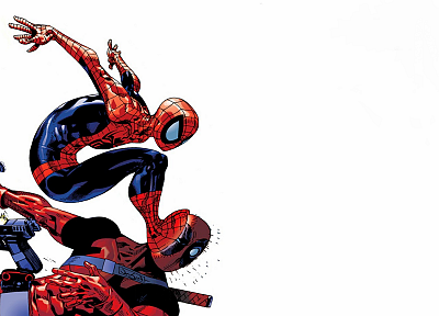 Spider-Man, Deadpool Wade Wilson, Marvel Comics - random desktop wallpaper
