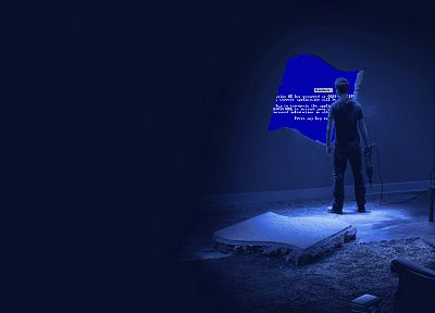 Blue Screen of Death - random desktop wallpaper